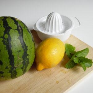 Zutaten Wassermelonenlimonade