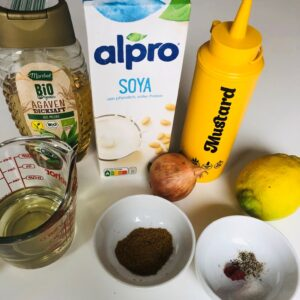Zutaten für Joppie Sauce