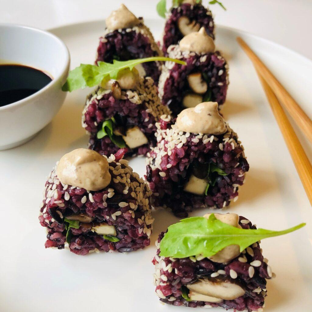 Black Shitake Sushi