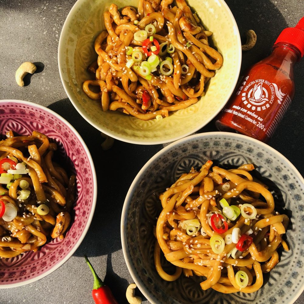 Spicy Udon Nudeln
